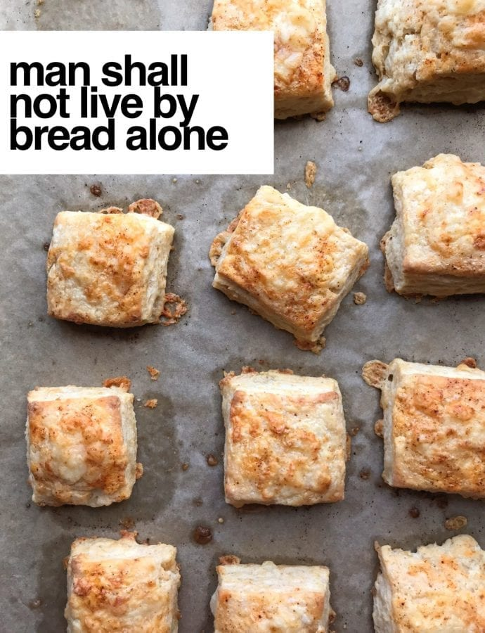 that's why we have biscuits