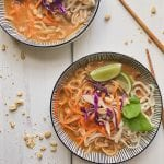 One Pot Red Curry Noodles with Chicken