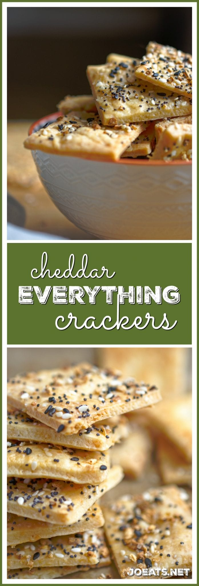 Cheddar Everything Crackers
