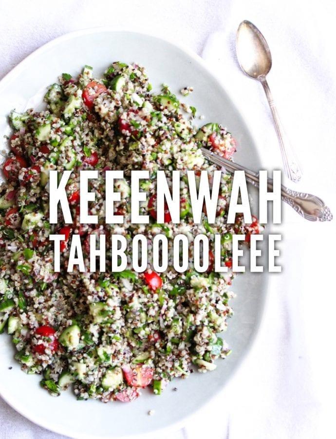 or quinoa tabbouleh