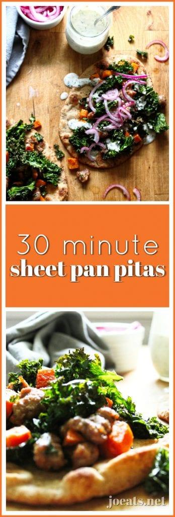 Sheet Pan Pitas