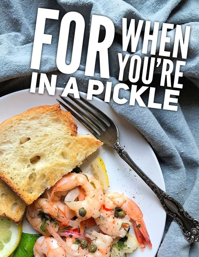 Easy Pickled Shrimp