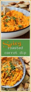 Spicy Carrot Dip