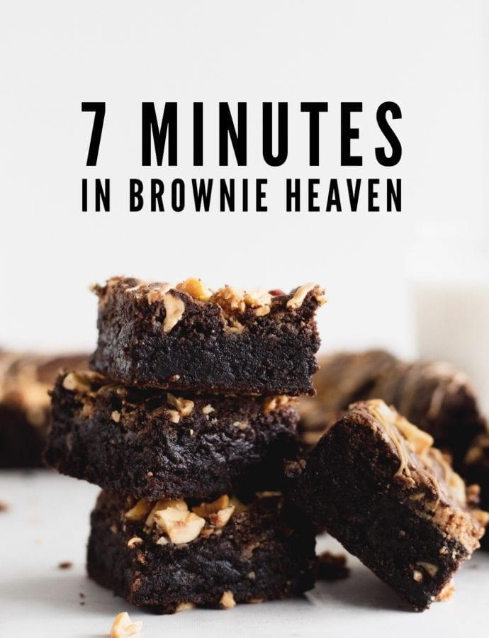 Super Fudgy Peanut Butter Brownies