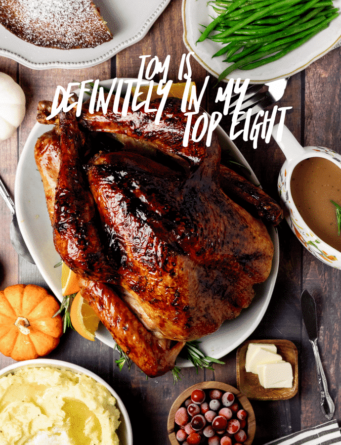 Orange and Honey Roasted Turkey – Plus Some Turkey Wisdom