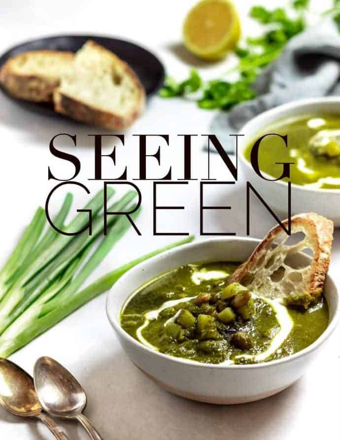 Winter Green Goddess Soup