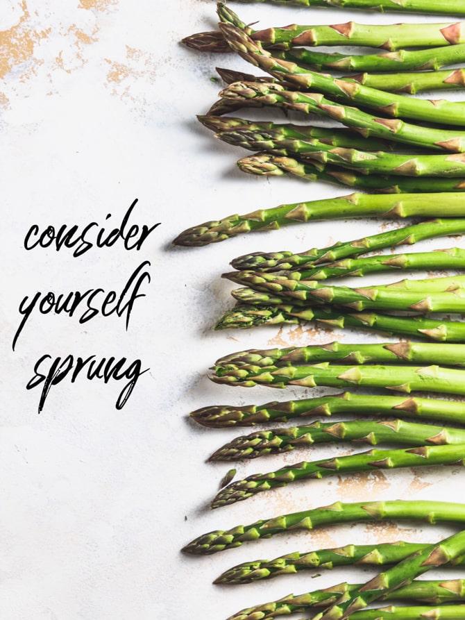 Spring Asparagus and Ham Frittata