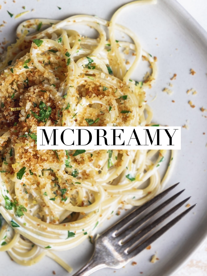 Creamy Lemon Spaghetti with Crunchy Breadcrumbs