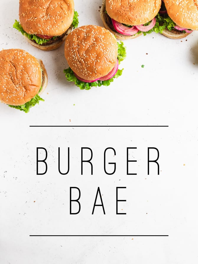 Chipotle Black Bean Burgers with Cashew Ranch {Vegan}