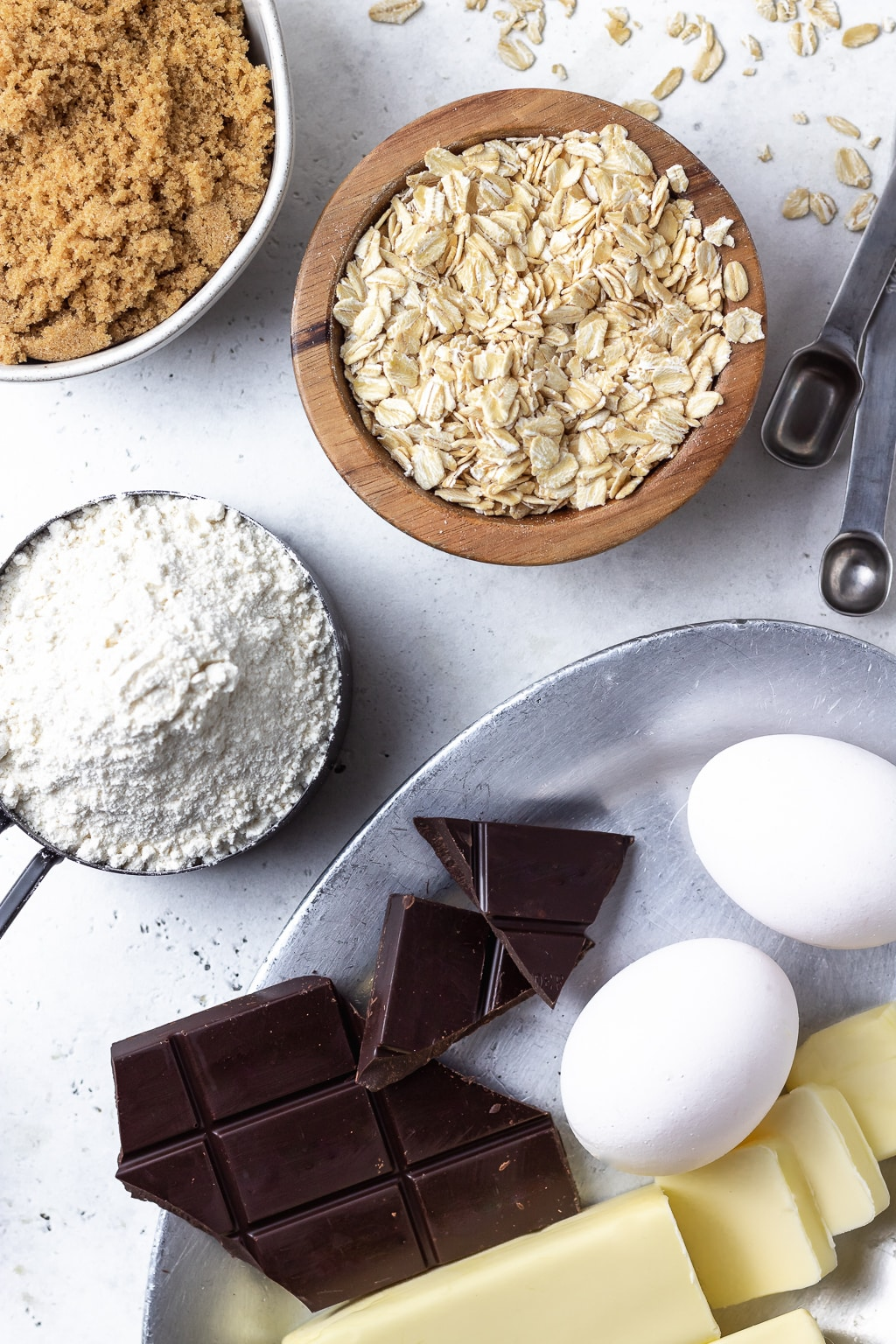 oatmeal chocolate chunk cookie ingredients