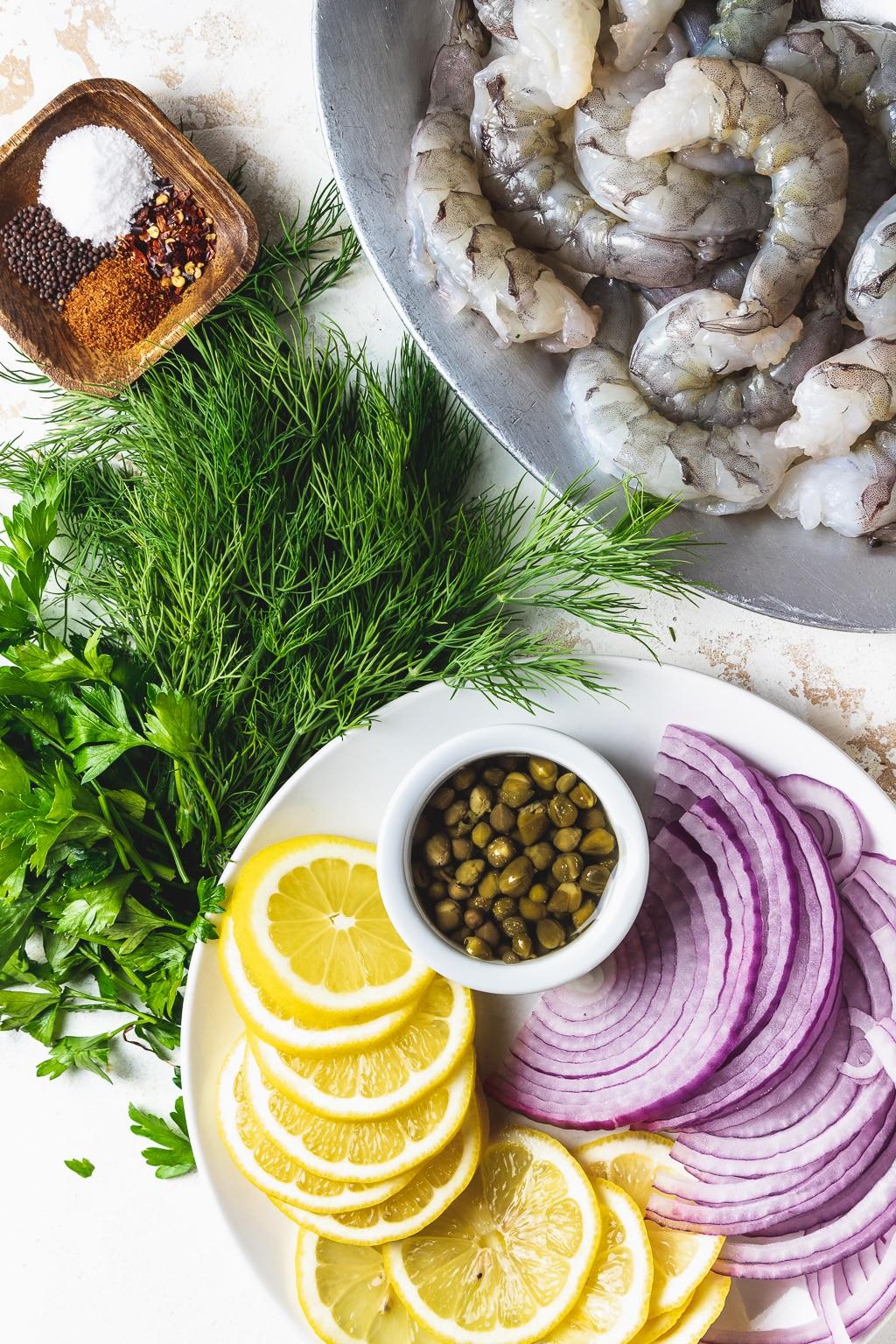 pickled shrimp ingredients