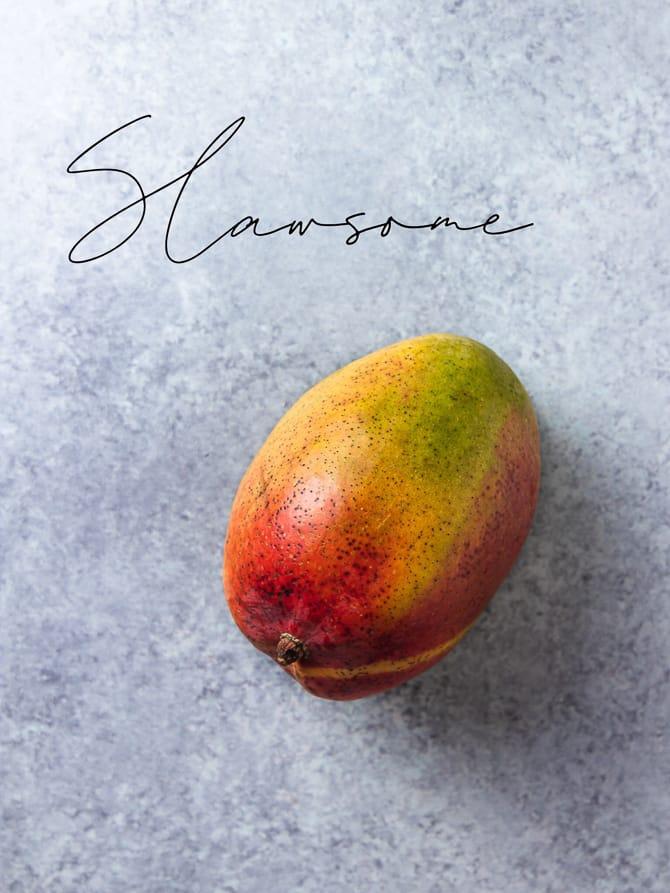 Mango Sesame Slaw