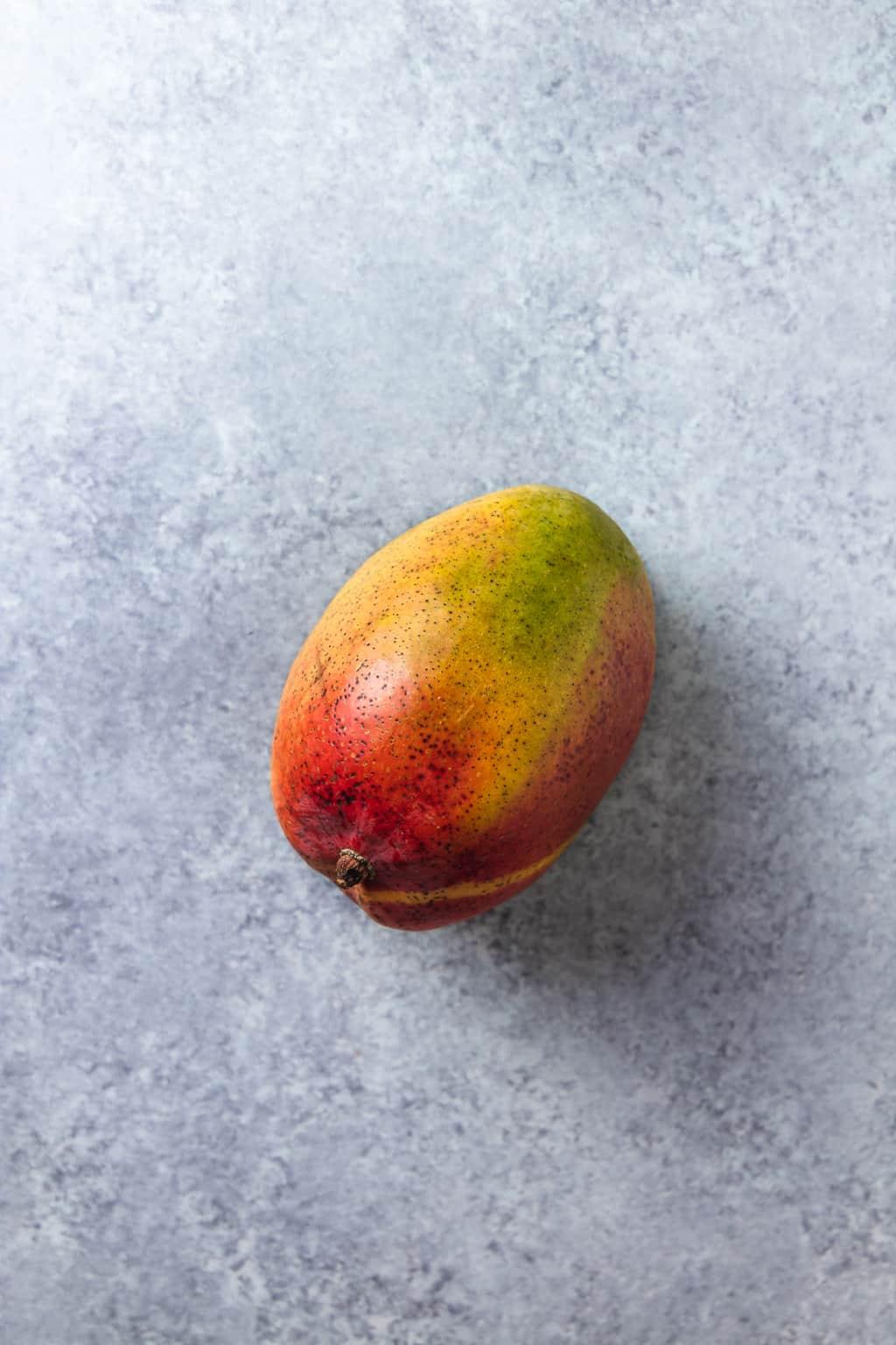 mango on a grey background