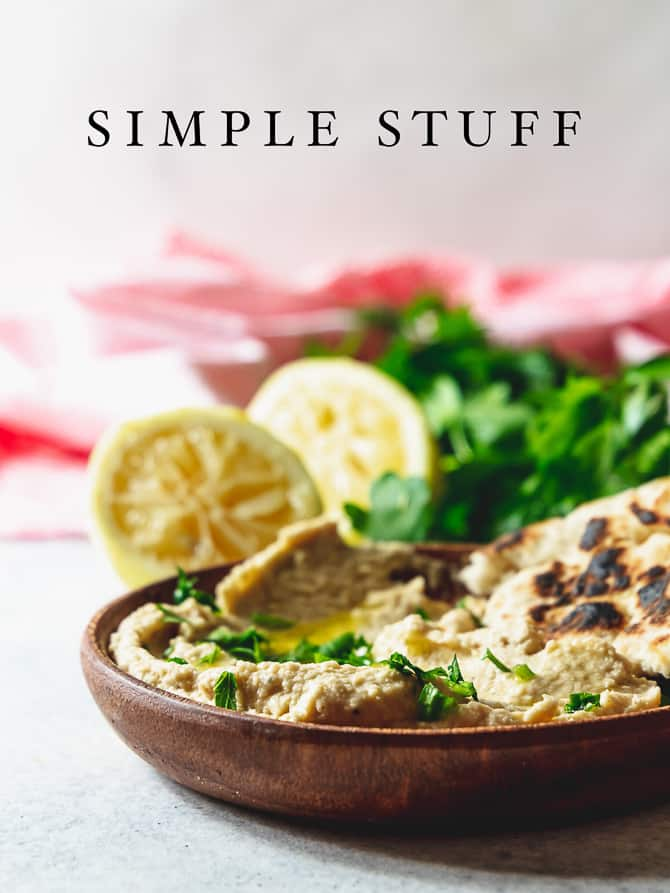 Easy Lemon Hummus