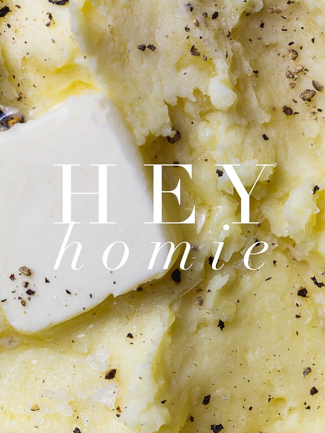 Easy Home Style Mashed Potatoes