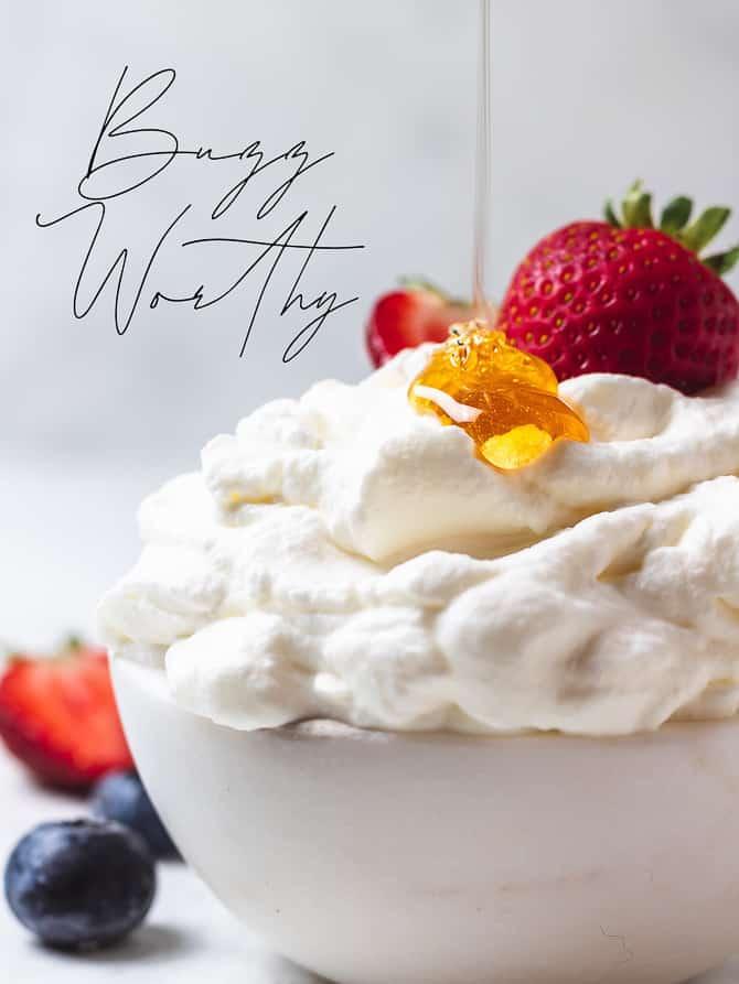 Salted Honey Whipped Cream