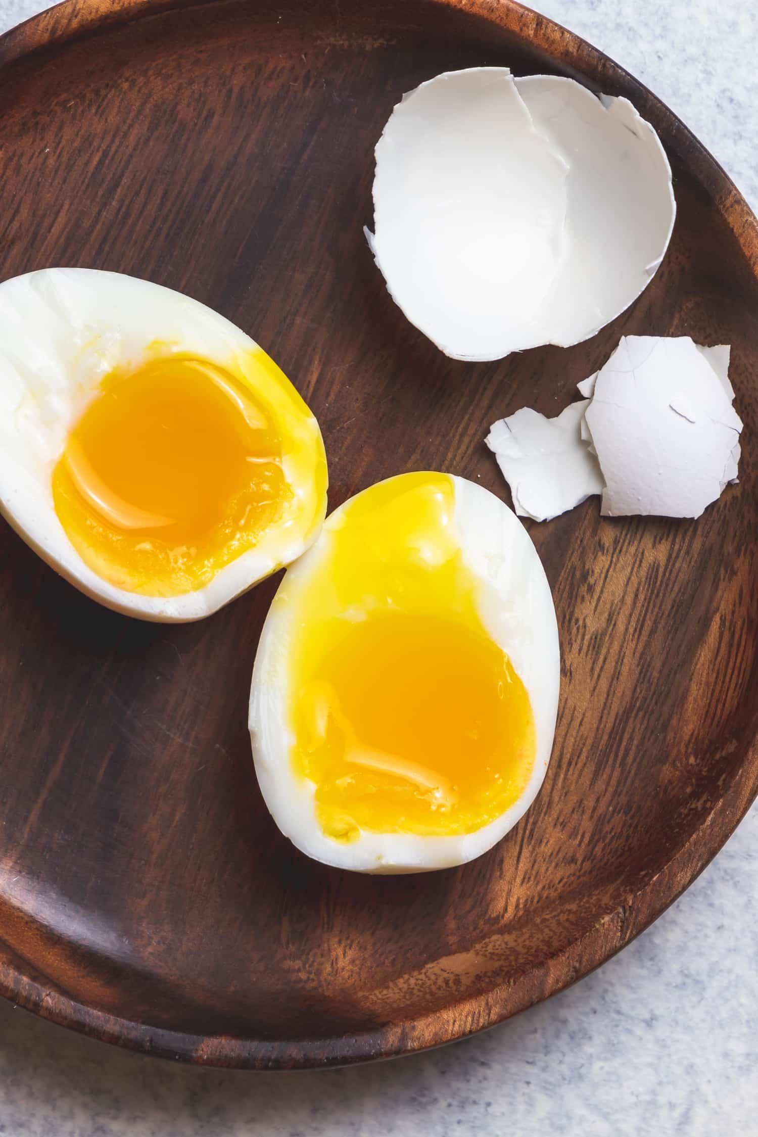 seven minute egg