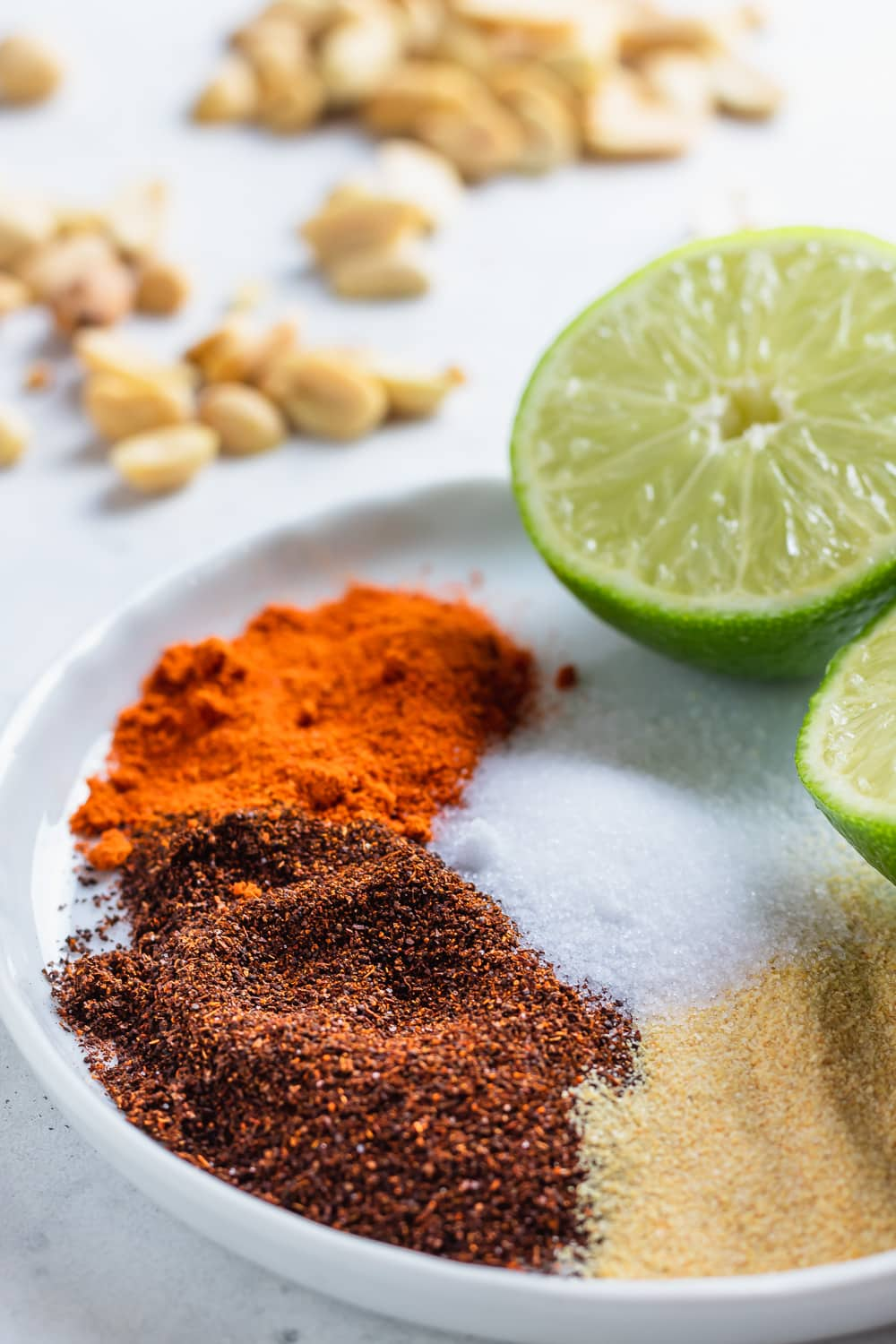 assorted spices and limes