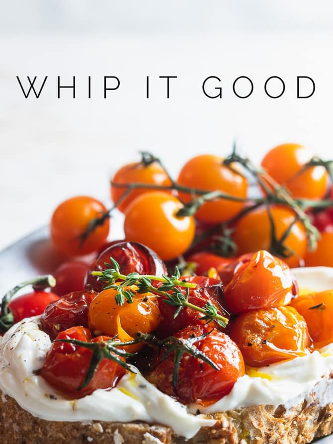 Whipped Ricotta with Tomato Confit