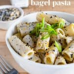 bowl of pantry pasta